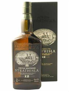 Strathisla Scotch Single Malt Speyside 12 Yr.